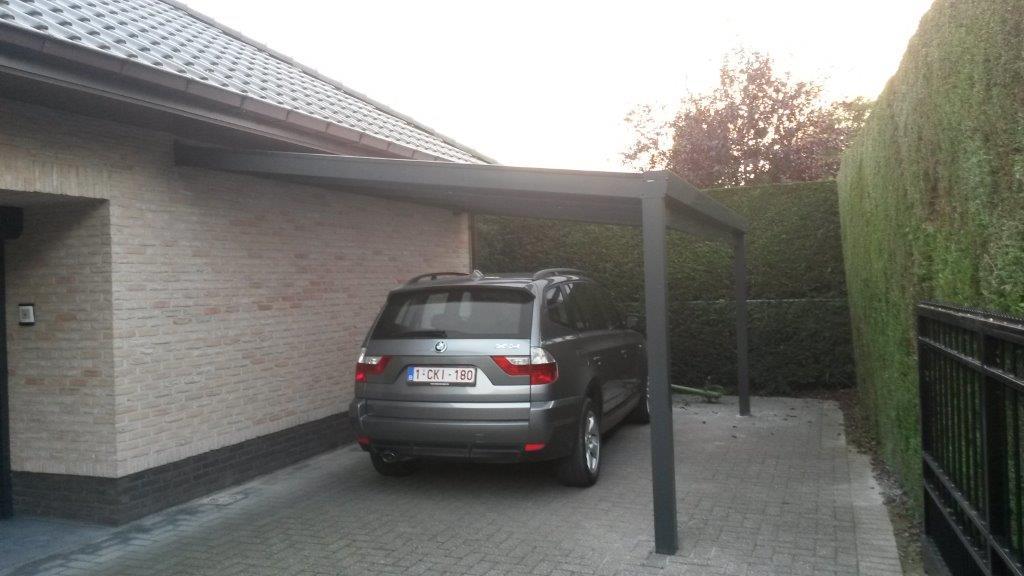 Carports h van den bergh essen - Carport aluminium belgique ...