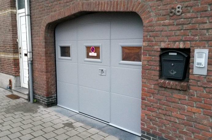Sectionale garagepoorten plaatsen h van den bergh essen - Hoe amenager zijn garage ...